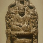 Stele with Taoist Deity