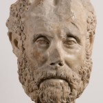 Portrait Head of a Man with a Beard