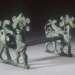 Horse Bit with Cheekpieces in the Form of Winged Sphinxes