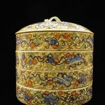 Four-Tiered Imari Ware Food Container