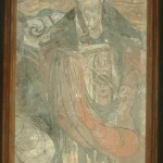 A Bearer of Good Wishes: Fragment of a Taoist Wall Painting