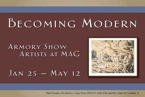 becoming modern: armory show artists at MAG