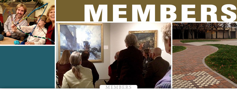 Members ARE the Memorial Art Gallery