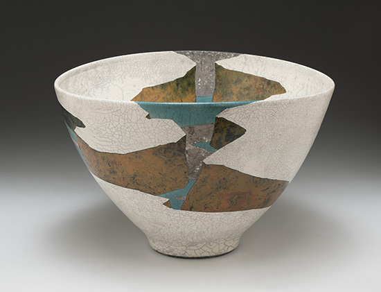 White Terrace Gap ceramic by Wayne Higby