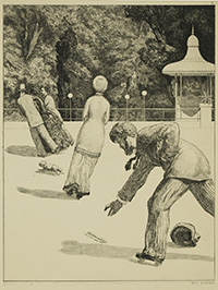 Action, from The Glove by Max Klinger