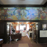 Carl W. Peters mural at the Fairport Historical Museum of the Perinton Historical Society