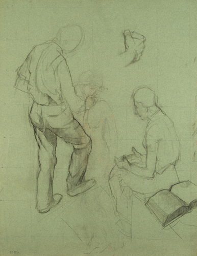 Figure Studies for Life of Contemplation