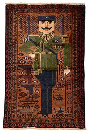 This Exhibition Brings To The United States For First Time Examples From Distinguished Private Collections Of Afghan War Rugs Artists Who Wove