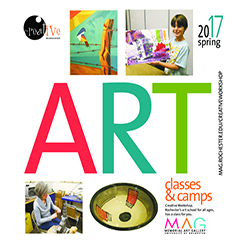 Creative Workshop Spring Catalog