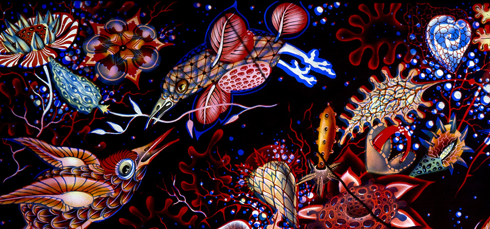 Judith Schaechter's Stained-Glass Art