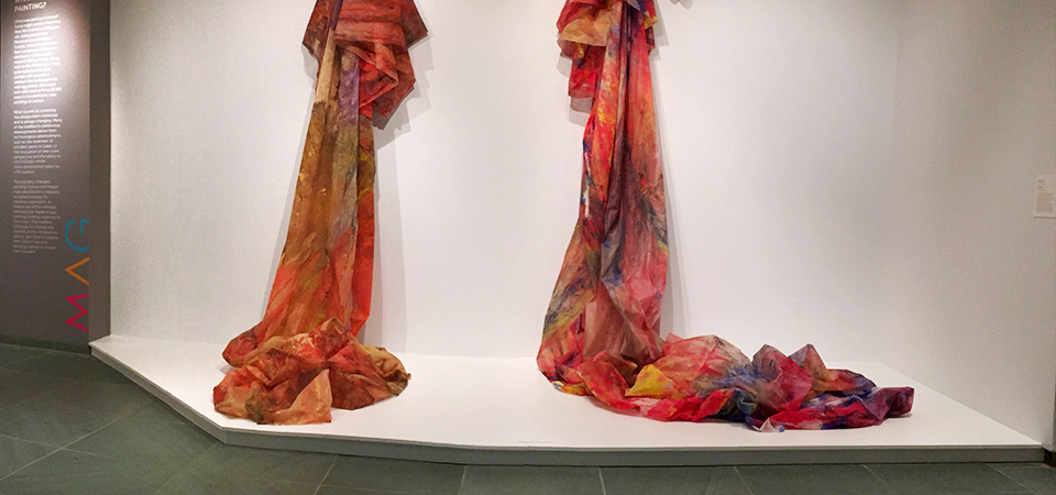 Sam Gilliam is on view at MAG