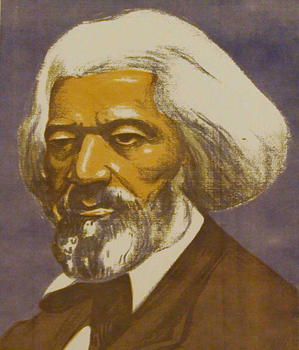 portrait of Frederick Douglass by Elizabeth M. Olds