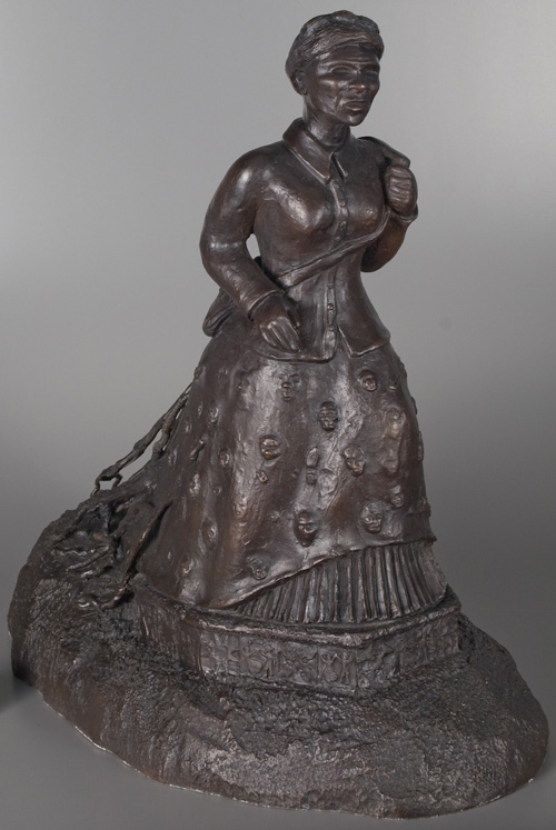 sculpture depicting Harriet Tubman
