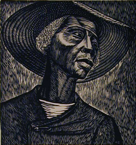 depiction of a sharecropper