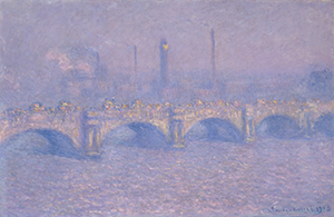 Monet - Waterloo Bridge - Veiled Sun