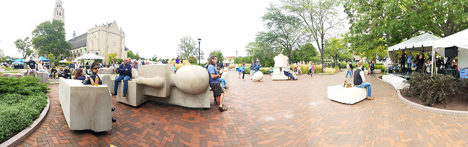 PANO in the Sculpture Park