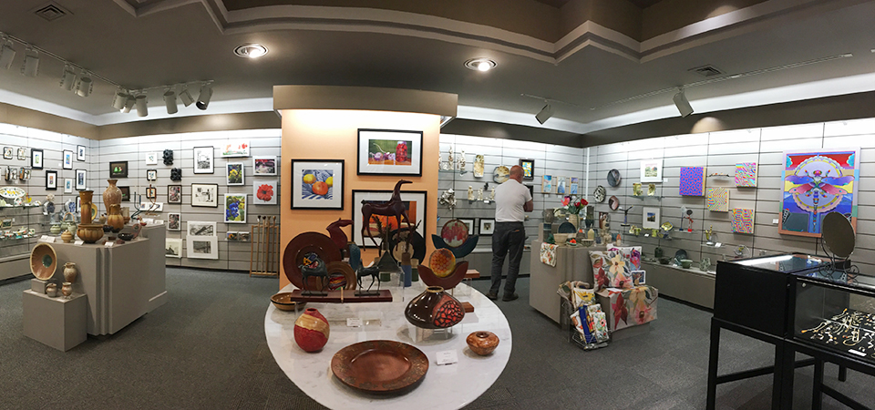 Over 75 local artists have work for sale at THE STORE at MAG