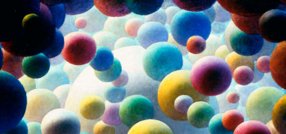 header image detail of Fritz trautmann's galaxy painting