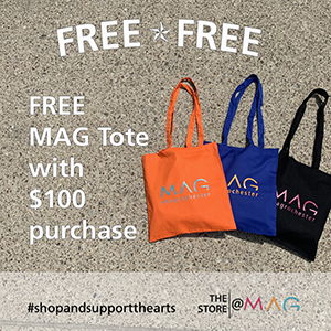 FREE MAG tote with $100 purchase