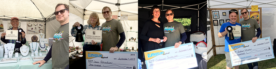 2019 M and T Bank Clothesline Festival Merit Winners