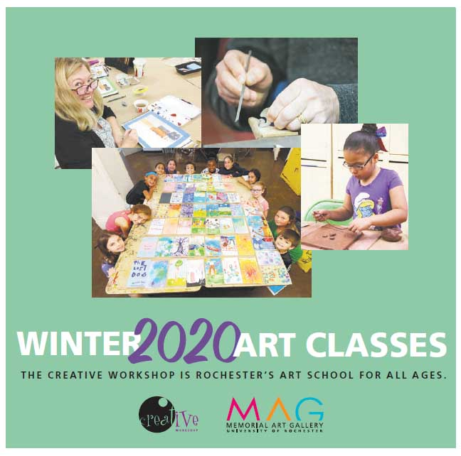 Winter Classes at Creative Workshop