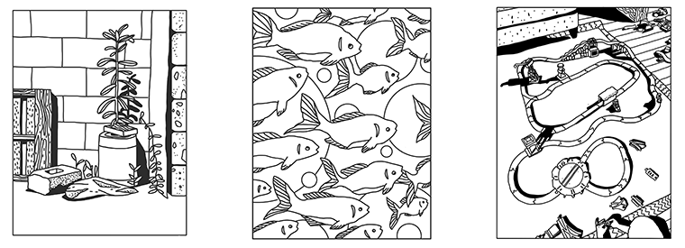 Coloring pages from Heather Swenson