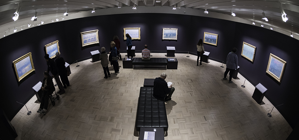 Monet Exhibition photo by Adam Fenster