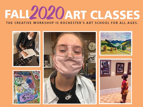 Fall 2020 Creative Workshop classes