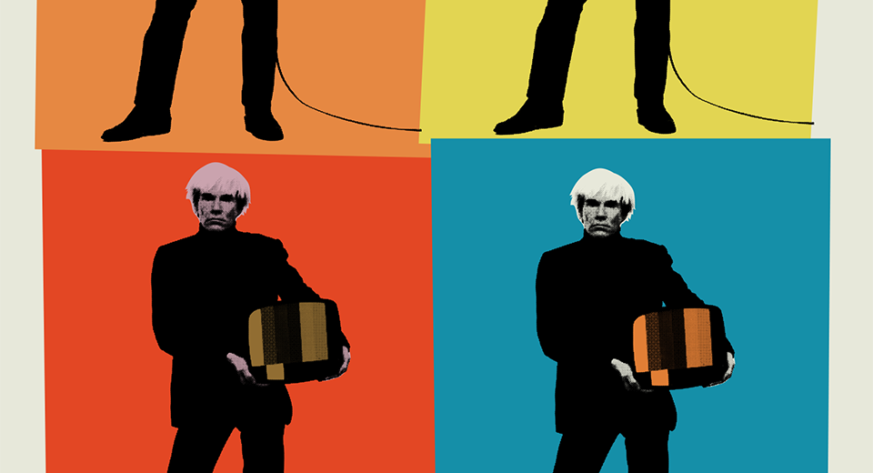 Warhol TV - TV Guide style