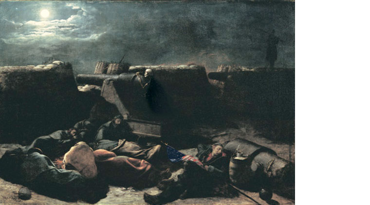 Night Before the Battle by James Henry Beard