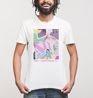 M and T Bank Clothesline t-shirt by SALUT